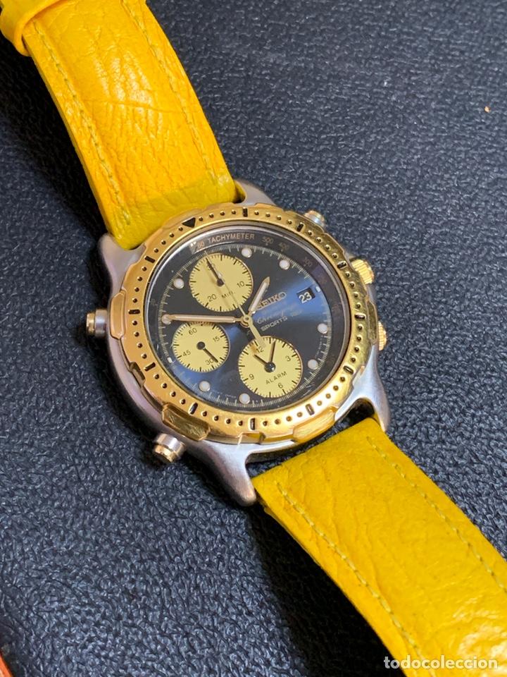 Relojes - Seiko: Seiko Sports 150 7T32 F020 chronograph vintage hombre espectacular funcionando de colección - Foto 4 - 221276061