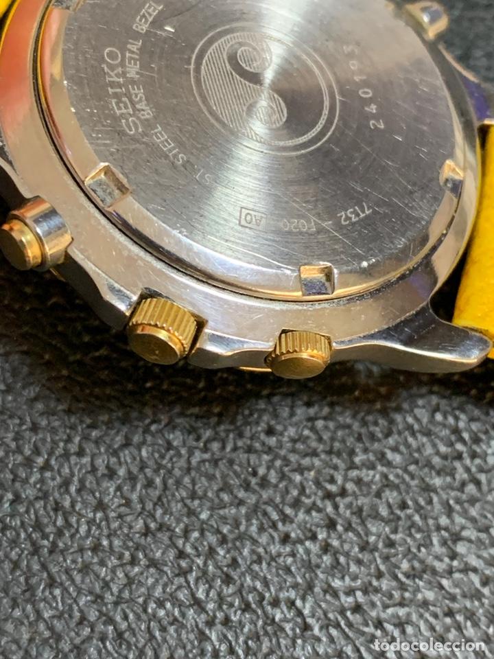 Relojes - Seiko: Seiko Sports 150 7T32 F020 chronograph vintage hombre espectacular funcionando de colección - Foto 5 - 221276061