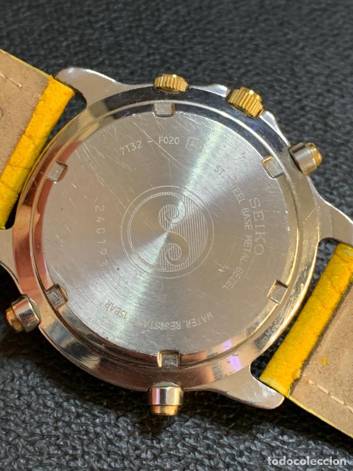 Relojes - Seiko: Seiko Sports 150 7T32 F020 chronograph vintage hombre espectacular funcionando de colección - Foto 10 - 221276061