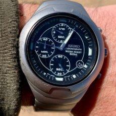 Relojes - Seiko: SEIKO CRONOGRAPH V657 - 6190 HOMBRE VINTAGE 40MM FUNCIONANDO. Lote 221111158