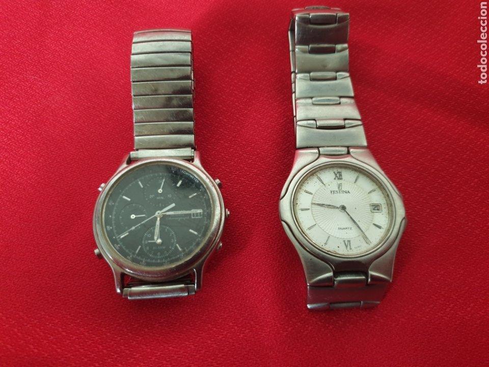 ANTIGUOS RELOJES FESTINA Y SEIKO (Relojes - Relojes Actuales - Seiko)