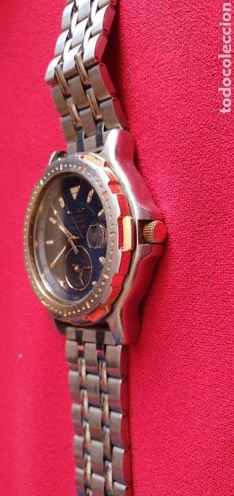 Relojes - Seiko: SEIKO CUARZO CHRONOGRAF SPORTS 159 TIME CORP.MIDE 41MM DIAMETRO - Foto 2 - 222031471