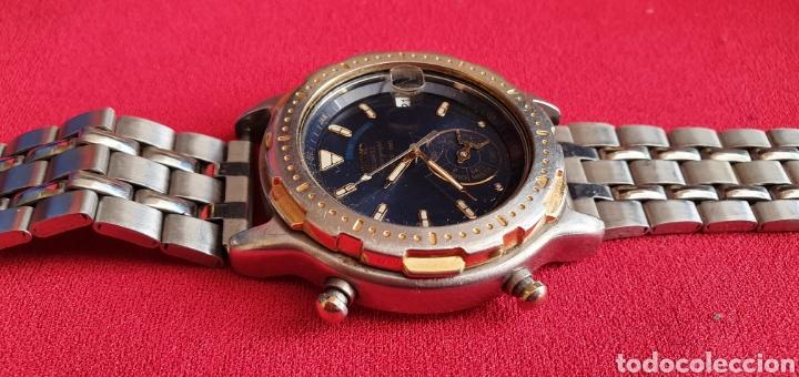 Relojes - Seiko: SEIKO CUARZO CHRONOGRAF SPORTS 159 TIME CORP.MIDE 41MM DIAMETRO - Foto 3 - 222031471