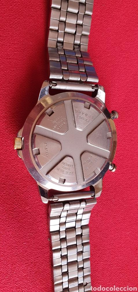 Relojes - Seiko: SEIKO CUARZO CHRONOGRAF SPORTS 159 TIME CORP.MIDE 41MM DIAMETRO - Foto 4 - 222031471