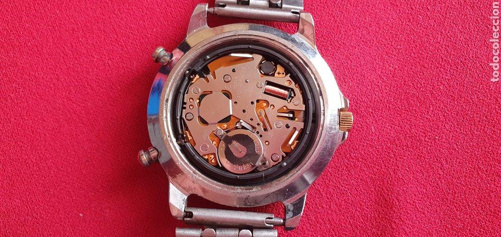 Relojes - Seiko: SEIKO CUARZO CHRONOGRAF SPORTS 159 TIME CORP.MIDE 41MM DIAMETRO - Foto 6 - 222031471