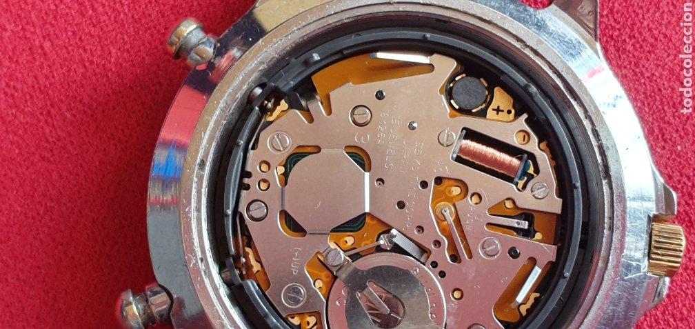 Relojes - Seiko: SEIKO CUARZO CHRONOGRAF SPORTS 159 TIME CORP.MIDE 41MM DIAMETRO - Foto 7 - 222031471