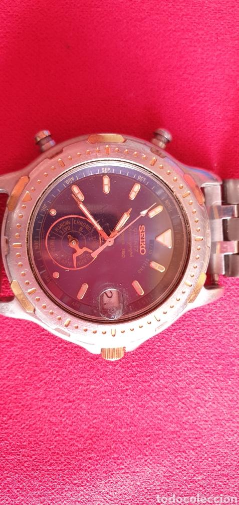 Relojes - Seiko: SEIKO CUARZO CHRONOGRAF SPORTS 159 TIME CORP.MIDE 41MM DIAMETRO - Foto 9 - 222031471