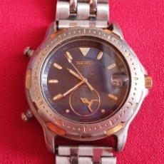 Relojes - Seiko: SEIKO CUARZO CHRONOGRAF SPORTS 159 TIME CORP.MIDE 41MM DIAMETRO. Lote 222031471