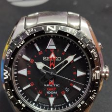 Relojes - Seiko: RELOJ SEIKO KINETIC (45MM). Lote 222286083