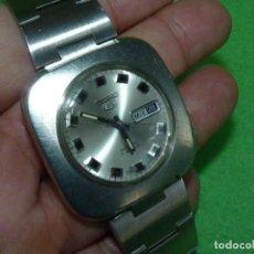 Relojes - Seiko: ESCASO RELOJ AUTOMÁTICO SEIKO 5 6119-7400 TODO ACERO 21 RUBIS 1969 VINTAGE MADE IN JAPAN SPACE AGE. Lote 222581546