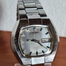 Relojes - Seiko: RELOJ DE CABALLERO (VINTAGE) SEIKO AUTOMÁTICO 21 RUBIS CON DOBLE CALENDARIO A LAS TRES CALIBRE 7019A. Lote 223976228