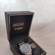 Relojes - Seiko: SEIKO 7T34 - 6A00 FLIGHTMASTER PILOT ACERO FUNCIONANDO 40MM CON CAJA ORIGINAL. Lote 223988560
