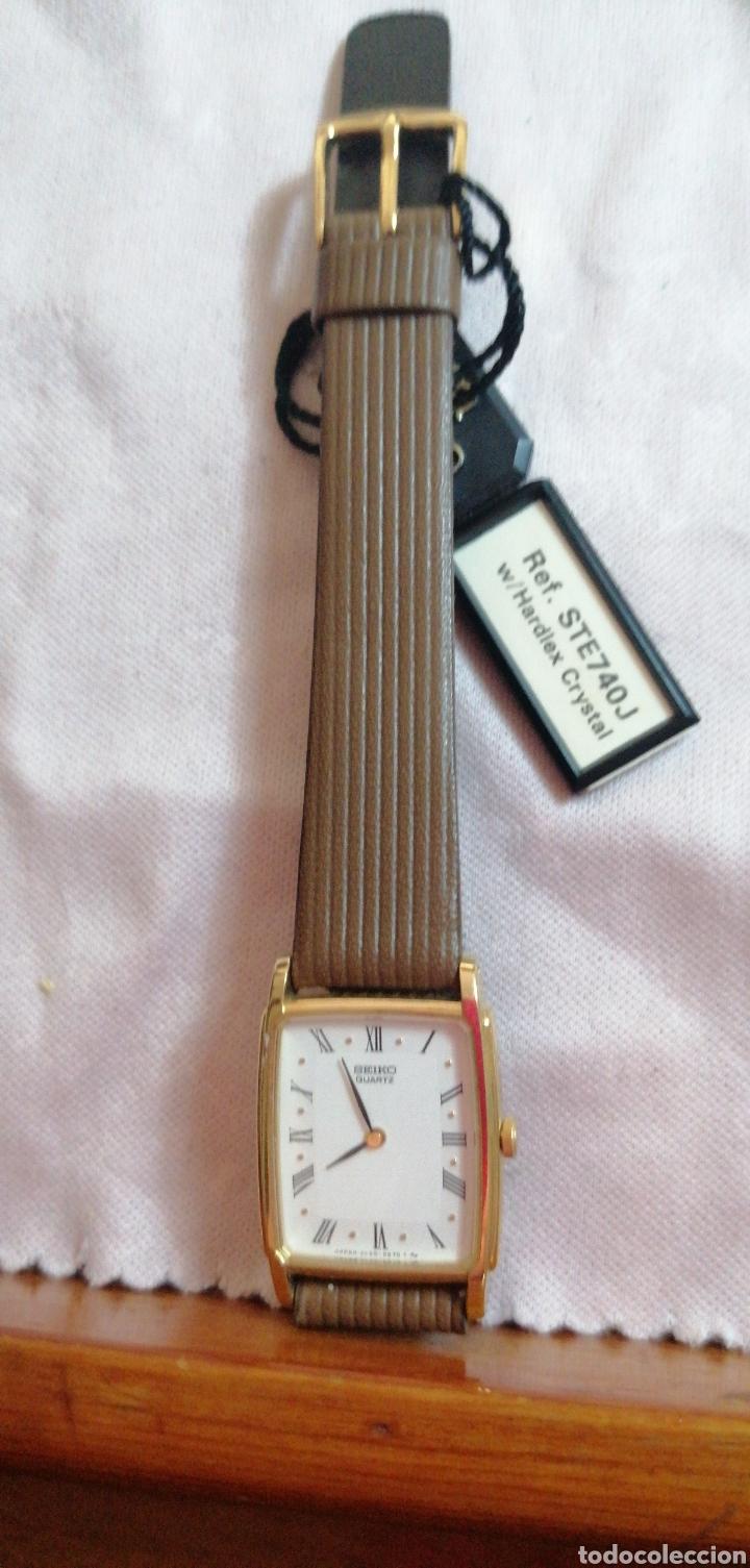 Relojes - Seiko: RELOJ DE PULSERA MARCA SEIKO QUARTZ DE SEÑORA - Foto 2 - 224475125