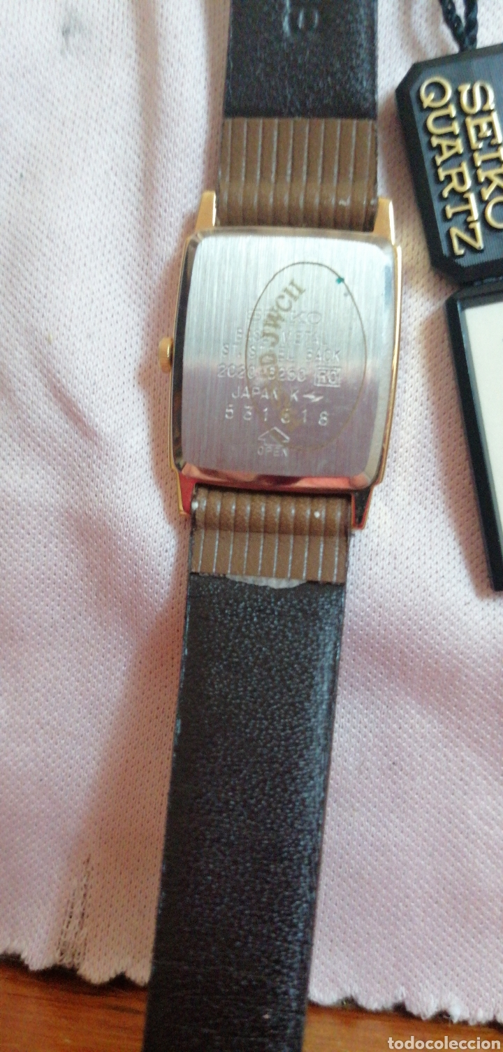 Relojes - Seiko: RELOJ DE PULSERA MARCA SEIKO QUARTZ DE SEÑORA - Foto 4 - 224475125