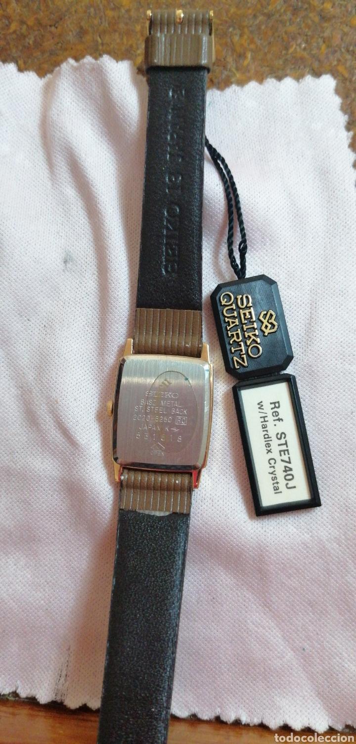 Relojes - Seiko: RELOJ DE PULSERA MARCA SEIKO QUARTZ DE SEÑORA - Foto 5 - 224475125