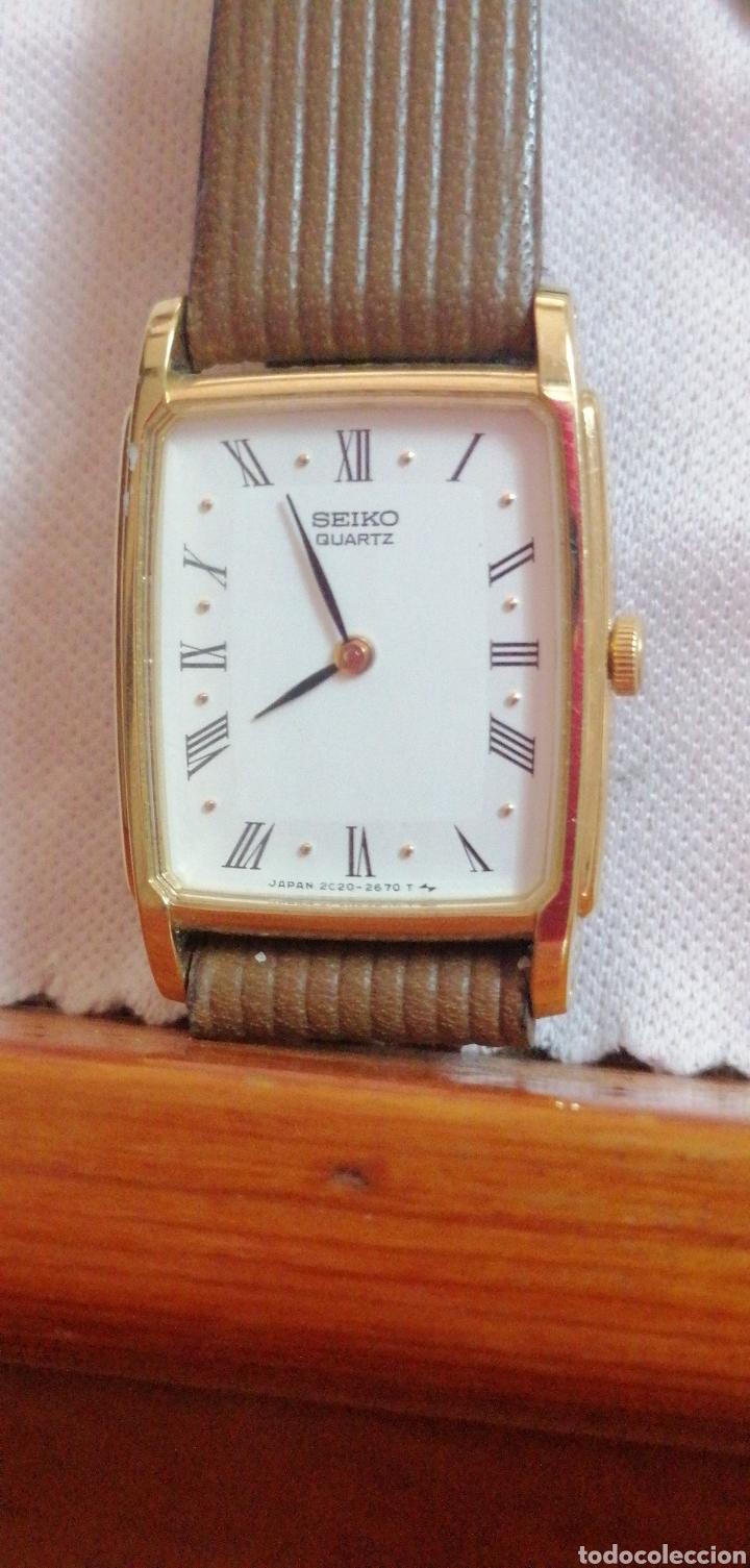 RELOJ DE PULSERA MARCA SEIKO QUARTZ DE SEÑORA (Relojes - Relojes Actuales - Seiko)