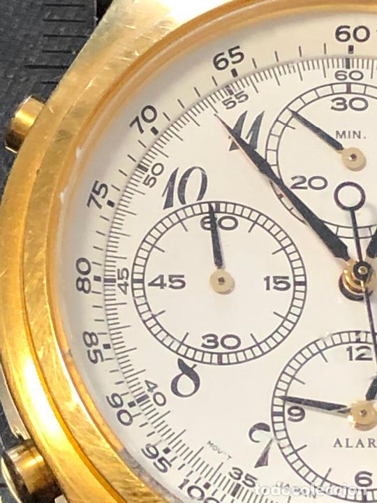 Relojes - Seiko: RELOJ CRONOGRAFO SEIKO ESFERA DORADA ALTA CALIDAD. VER FOTOS - Foto 3 - 224717868