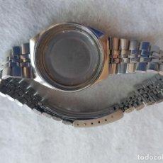 Relojes - Seiko: SEIKO CAJA + ARMIS ACERO 6119 - 8273 BUEN ESTADO. Lote 225310856