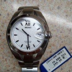 Relojes - Seiko: RELOJ SEIKO DE PILA A ESTRENAR DE RELOJERIA CON PRECIO ORIGINAL EN PESETAS AÑO 2002 * PERFECTO *. Lote 226499730