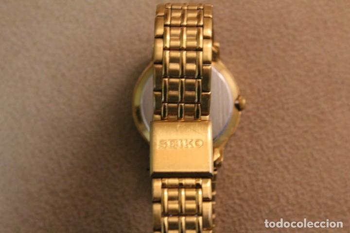 Relojes - Seiko: Reloj Sra. dorado marca Seiko. - Foto 2 - 226813572