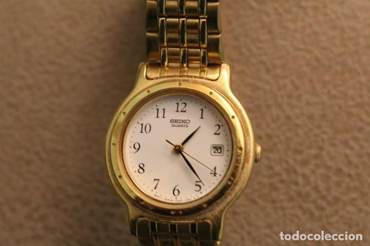 Relojes - Seiko: Reloj Sra. dorado marca Seiko. - Foto 4 - 226813572