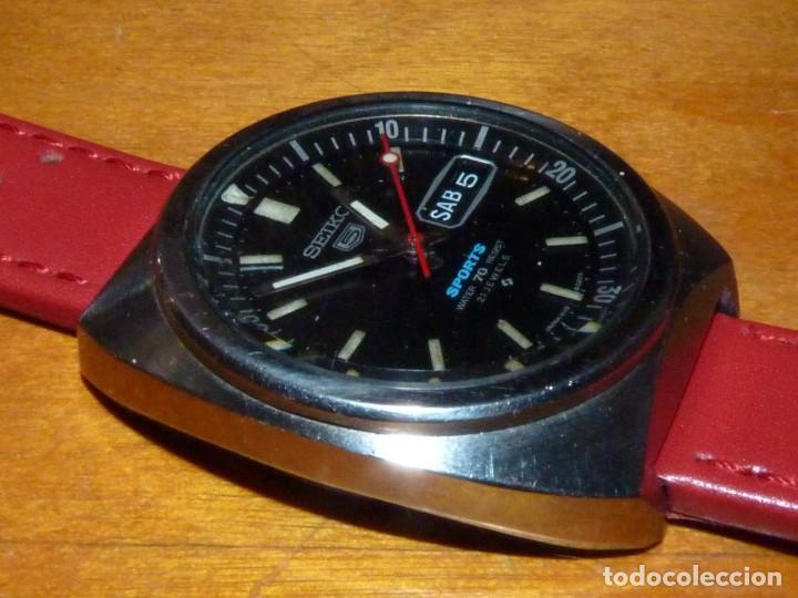 Relojes - Seiko: Buscado reloj automático Seiko 5 sports 6119-6023 diver 21 rubis de 1971 vintage made in Japan - Foto 2 - 228576290