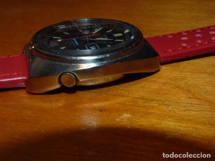 Relojes - Seiko: Buscado reloj automático Seiko 5 sports 6119-6023 diver 21 rubis de 1971 vintage made in Japan - Foto 5 - 228576290