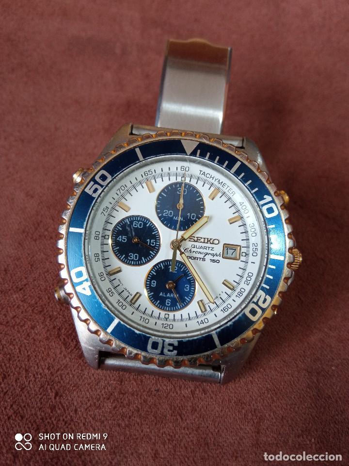 Relojes - Seiko: Seiko crono cuarzo - Foto 7 - 230527870