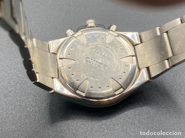 Relojes - Seiko: Seiko Sportura titanium 7T62 0A60 - Foto 3 - 231161660
