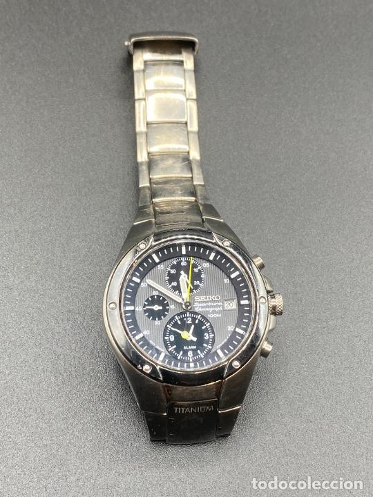 Relojes - Seiko: Seiko Sportura titanium 7T62 0A60 - Foto 4 - 231161660