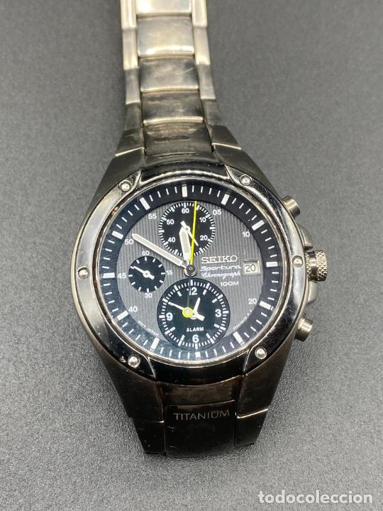 Relojes - Seiko: Seiko Sportura titanium 7T62 0A60 - Foto 6 - 231161660