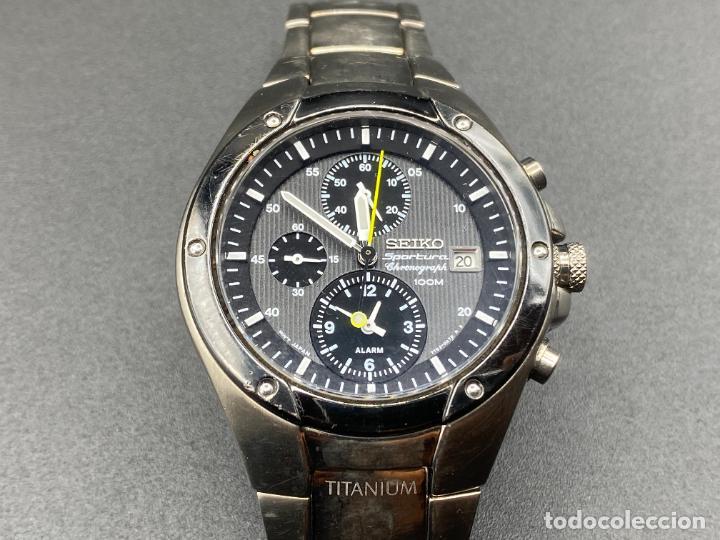 SEIKO SPORTURA TITANIUM 7T62 0A60 (Relojes - Relojes Actuales - Seiko)