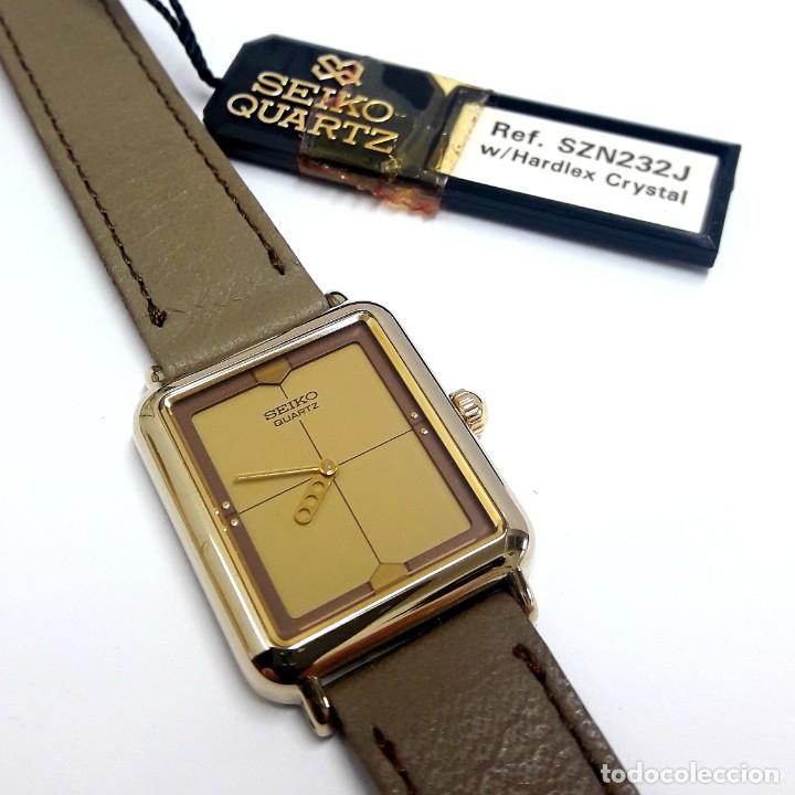 Relojes - Seiko: ELEGANTE RELOJ VINTAGE DE SEÑORA SEIKO AÑOS 80 CALIBRE 2P20 Y NUEVO A ESTRENAR - Foto 6 - 232523120
