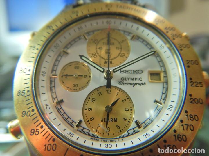 RELOJ SEIKO CRONOGRAFO OLYMPIC 7T42-7A50 (Relojes - Relojes Actuales - Seiko)