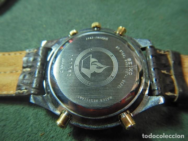 Relojes - Seiko: Reloj Seiko cronografo olympic 7T42-7A50 - Foto 3 - 233009895