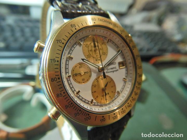 Relojes - Seiko: Reloj Seiko cronografo olympic 7T42-7A50 - Foto 8 - 233009895