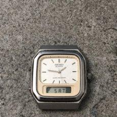 Relojes - Seiko: RELOJ SEIKO TOW TIME H449-5120 ALARMA CRONOGRAFO VINTAGE JAPON -A. Lote 234114360