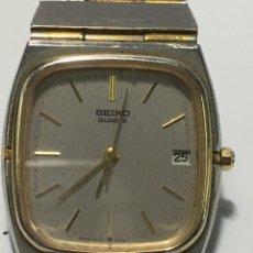 Relojes - Seiko: RELOJ SEIKO QUARTZ VINTAGE AÑOS 80 9022-5000 AO ARMYS ORIGINAL ACERO BISEL CHAPADO. Lote 236244800