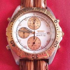 Relojes - Seiko: RELOJ SEIKO CHRONOGRAPH SPORTS 150 CUARZO .MIDE 40 MM.NO ESTA PROBADO TAL CUAL COLO SE VE EN FOTOS. Lote 236722785