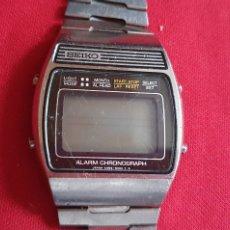 Relojes - Seiko: RELOJ SEIKO ALARMA CHRONOGRAPH DIGITAL .MIDE 33MM DIAMETRO TAL CUAL COMO SE VE EN FOTOS. Lote 236755300