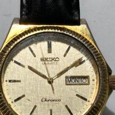 Orologi - Seiko: RELOJ SEIKO CHRONOS QUARTZ 7433-7010 MODELO VINTAGE TIPO ROLEX MUY RARO EN FUNCIONAMIENTO. Lote 238488160