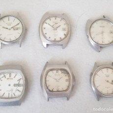 Relojes - Seiko: LOTE DE 6 RELOJES SEIKO AUTOMATICOS ACERO SERIE 7XXX Y 6XXX C17. Lote 239400225
