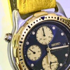 Relojes - Seiko: SEIKO SPORTS 150 7T32 F020 CHRONOGRAPH VINTAGE HOMBRE ESPECTACULAR FUNCIONANDO DE COLECCIÓN. Lote 221276061