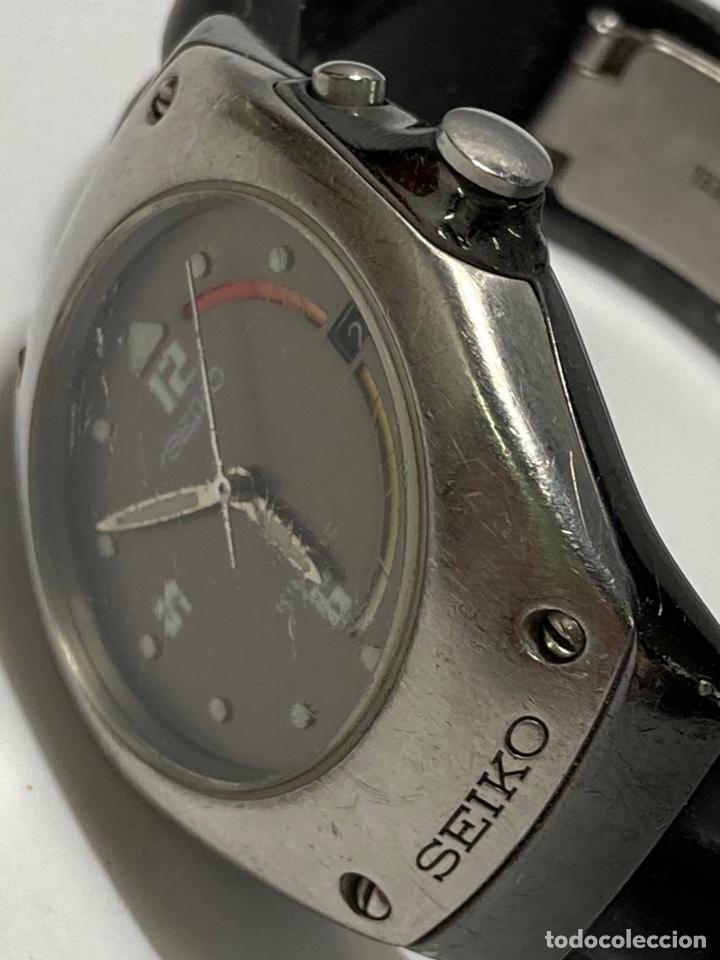Relojes - Seiko: Reloj Seiko kinetic modelo vintage en funcionamiento pila nueva - Foto 2 - 243859785