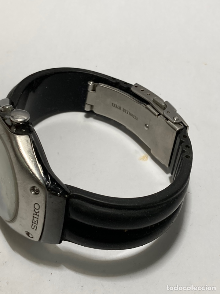 Relojes - Seiko: Reloj Seiko kinetic modelo vintage en funcionamiento pila nueva - Foto 3 - 243859785