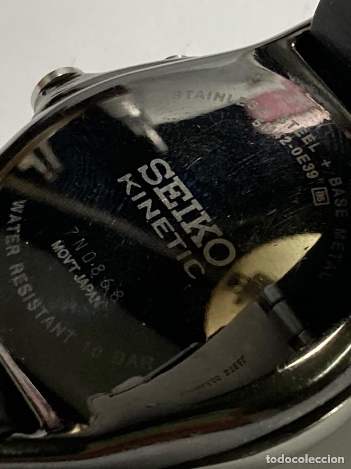 Relojes - Seiko: Reloj Seiko kinetic modelo vintage en funcionamiento pila nueva - Foto 6 - 243859785