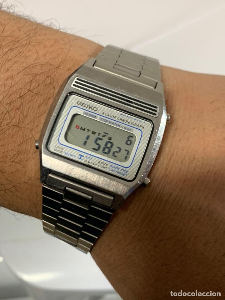 RELOJ VINTAGE SEIKO A639-5000 ALARM CHRONOGRAPH TODO ORIGINAL JAPAN (Relojes - Relojes Actuales - Seiko)