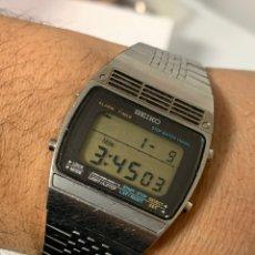 Relojes - Seiko: RELOJ VINTAGE SEIKO A259-5070 ALARM TODO ORIGINAL JAPAN. Lote 243894445