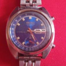 Relojes - Seiko: RELOJ SEIKO CHRONOGRAPH AUTOMATICO WATER 70 M REDIST FUNCIONA.MIDE 40 MM DIAMETRO. Lote 244504280