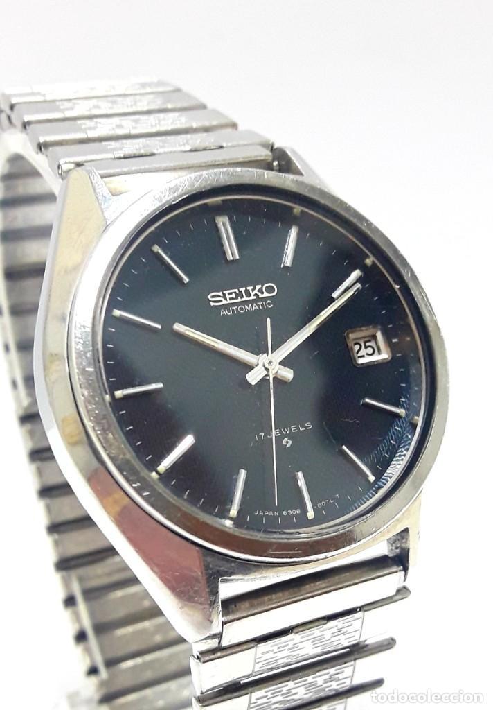 Relojes - Seiko: RELOJ SEIKO AUTOMÁTICO CALIBRE 6308 - Foto 2 - 244560495